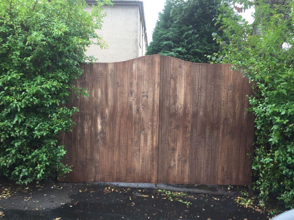 Driveway Gate Conversion